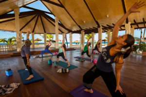 Yoga Pavilion at our Aruba Retreat location