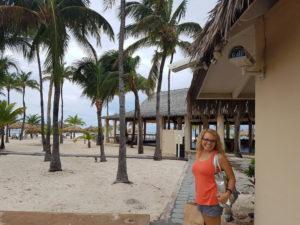 Jennifer Thorne, founder of Nourish Retreats, on task for a terrific time!